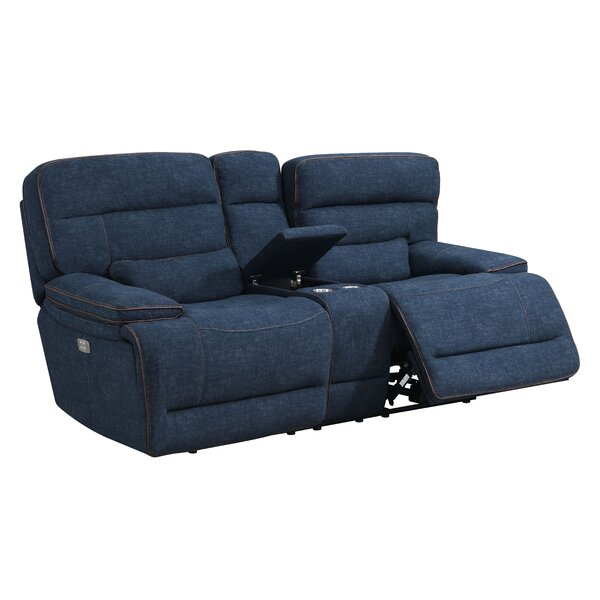 Get Great Deals Avis Reclining Loveseat by Winston Porter by Winston Porter