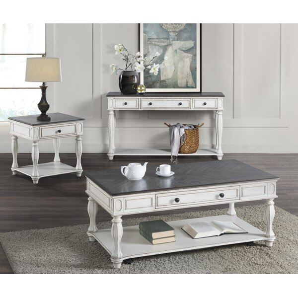 Mossley 3 Piece Coffee Table Set by Canora Grey Canora Grey