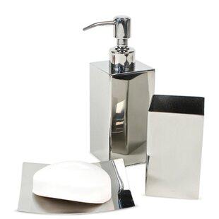 Nemesia 3-Piece Bathroom Accessory Set ByGedy by Nameeks