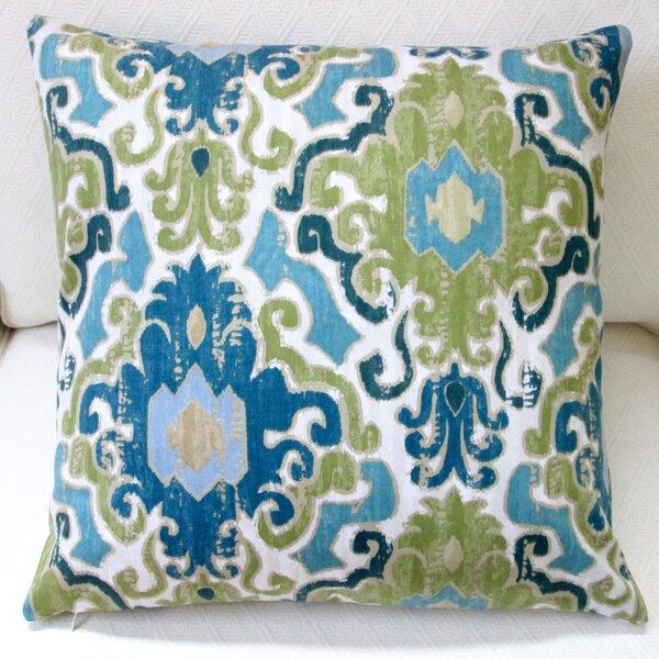 Toroli Venetian Antique Indoor Cotton Throw Pillow by Artisan Pillows