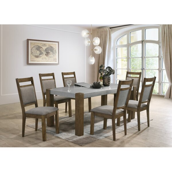 Shane 7 Piece Dining Set by Gracie Oaks