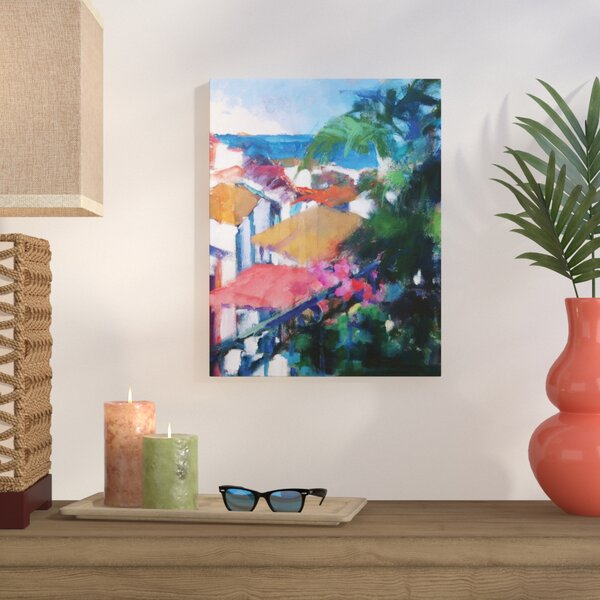 Best View Painting Print on Wrapped Canvas by Bay Isle Home