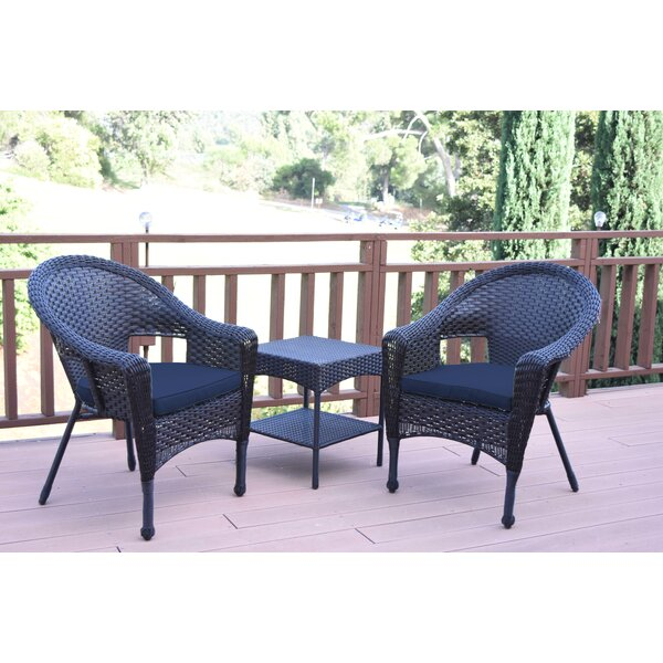 Laurens 3 Piece Seating Group With Cushions By August Grove by August Grove 2020 Coupon