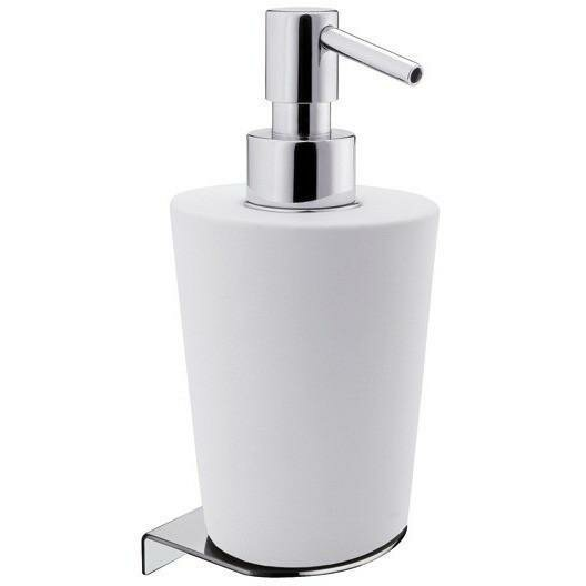 Soundview Wall Mounted Ceramic Soap & Lotion Dispenser by Orren Ellis