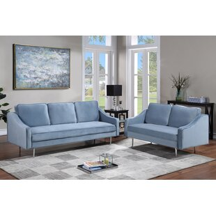 Sofa Set Morden Style Couch Furniture Upholstered Armchair by Mercer41