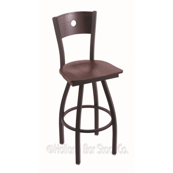 Voltaire 30 Swivel Bar Stool by Holland Bar Stool