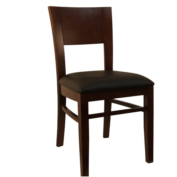 Solid Wood Dining Chair (Set of 2) by H&D Restaurant Supply, Inc.