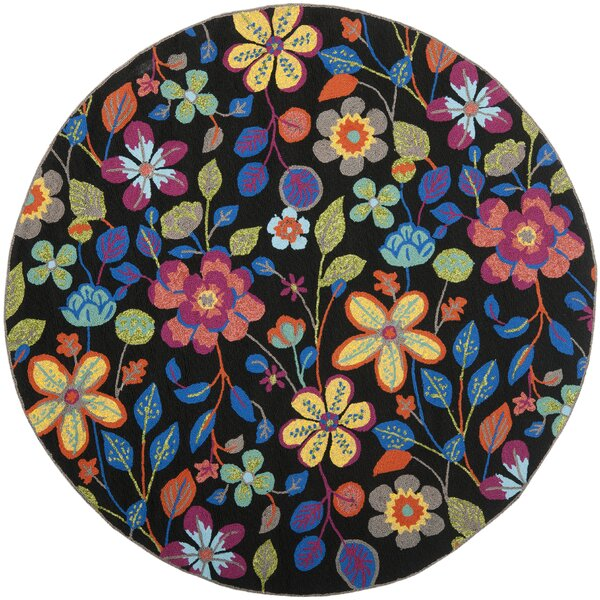 Hayes Floral Outdoor Area Rug by Ebern Designs