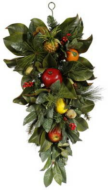 Holiday Fruit Teardrop swag by Darby Home Co