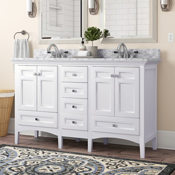 60 Double Sink Bathroom Vanity Set by Birch Lane™