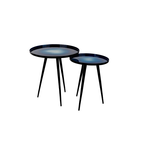 Tray Top 3 Legs Nesting Tables By Zuiver