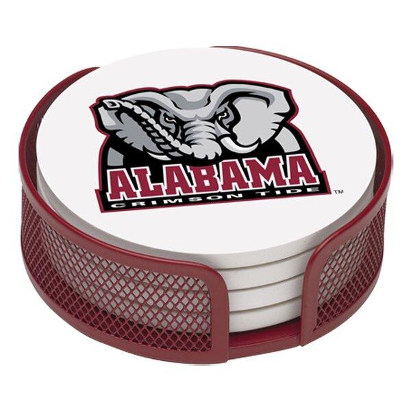 5 Piece University of Alabama Collegiate Coaster Gift Set by Thirstystone