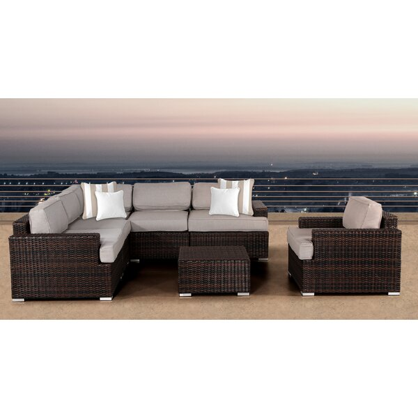 Archie 7 Piece Sectional Set with Cushions by Bayou Breeze