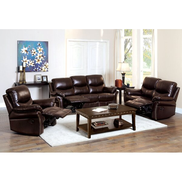 Piccadilly Reclining Configurable Living Room Set by Darby Home Co