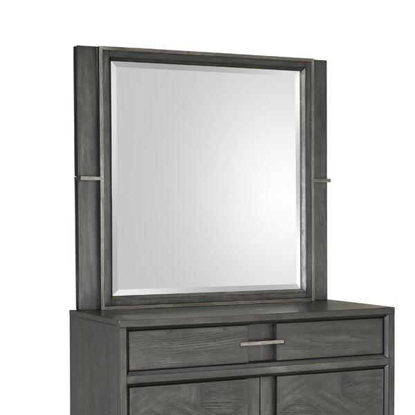 Diehl Rectangular Dresser Mirror by 17 Stories