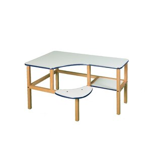 Grade School Manufactured Wood 23 Student Computer Desk ByWild Zoo
