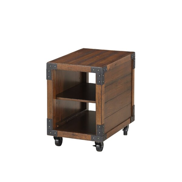Alisha End Table By 17 Stories