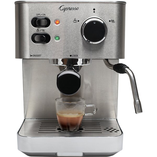 EC PRO Professional Coffee & Espresso Maker by Capresso
