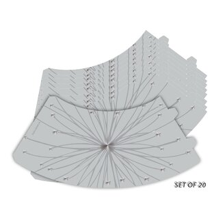 Reviews Star Burst Silhouette Vellum Party 5 Empire Lamp Shade By Ebern Designs