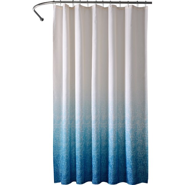 Galien Lace Ombre Shower Curtain by Willa Arlo Interiors