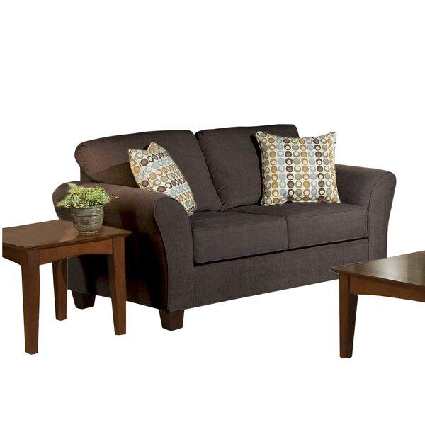 Serta Upholstery Franklin Loveseat by Three Posts