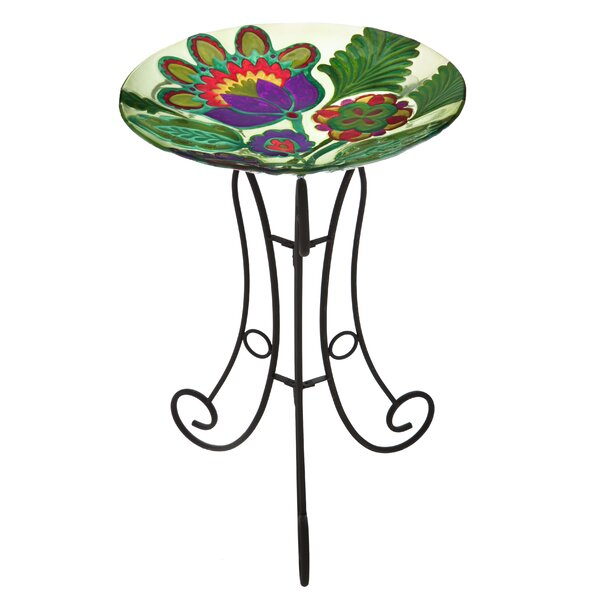 Somerset Garden Bird Bath by Evergreen Flag & Garden