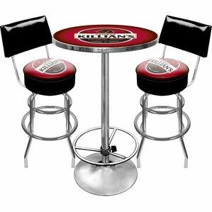 Killians Beer Game Room 3 Piece Pub Table Set by Trademark Global