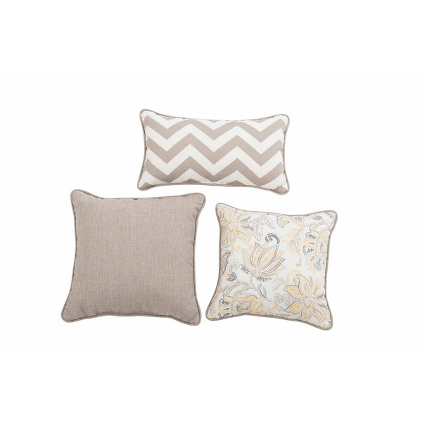 Evart 3 Piece Pillow Set by Red Barrel Studio