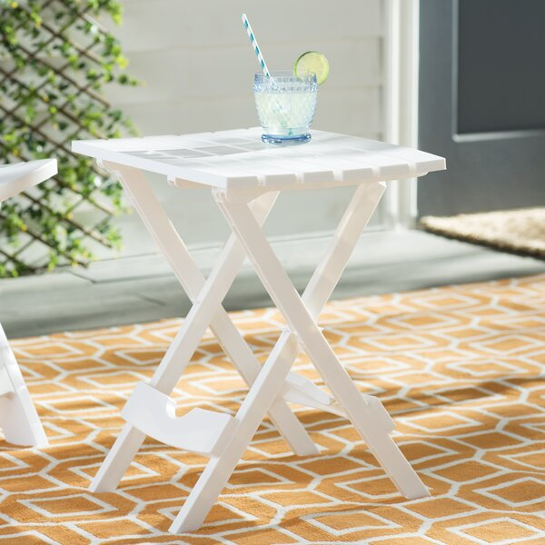 Kight Folding  Plastic/Resin Side Table by Andover Mills