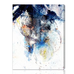 Snow Storm Painting Print on Canvas by Wade Logan