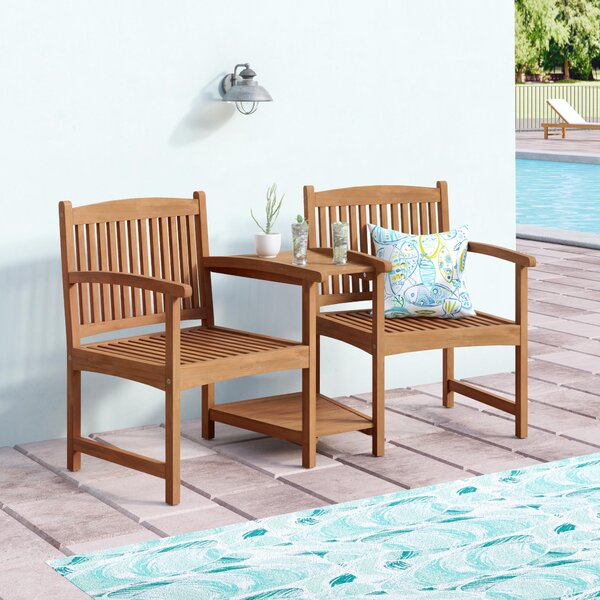 Safira Patio Dining Chair By Beachcrest Home