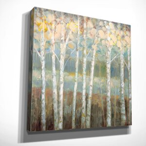 'Nature's Palette I' by Ruane Manning Painting Print on Wrapped Canvas by Wexford Home