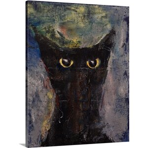 Ninja Cat by Michael Creese Painting Print on Canvas by Canvas On Demand