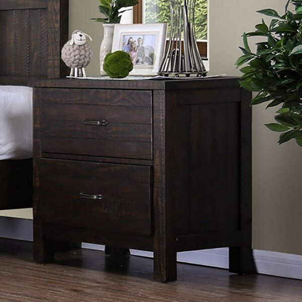 Rethman 2 Drawer Nightstand by Gracie Oaks