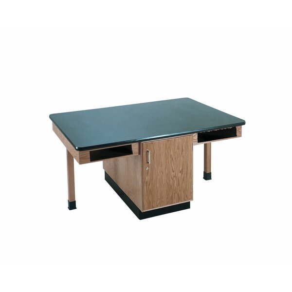 4 Station Workstation by Diversified Woodcrafts