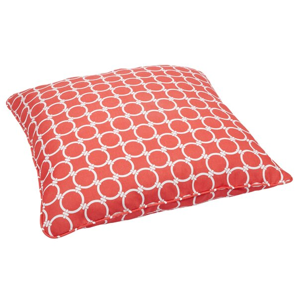 Eisenhower Indoor/Outdoor Euro Pillow by Rosecliff Heights