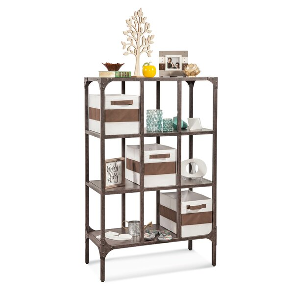 Clemence Industrial Repository Cube unit Bookcase by Gracie Oaks