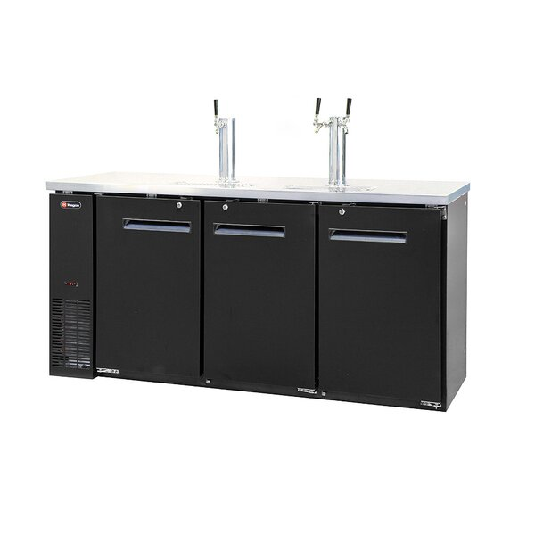 Triple Tap Commercial Grade Kegerator by Kegco