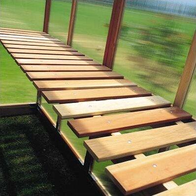 Mt. Hood GardenHouse Bench by Sunshine Gardenhouse