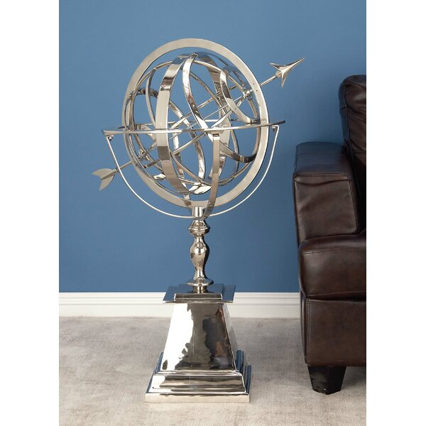 Aluminum Armillary Sphere Sculpture by Cole & Grey