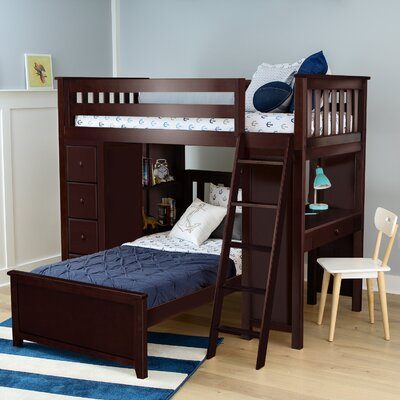Bookcase Twin Kids Beds You Ll Love In 2019 Wayfair