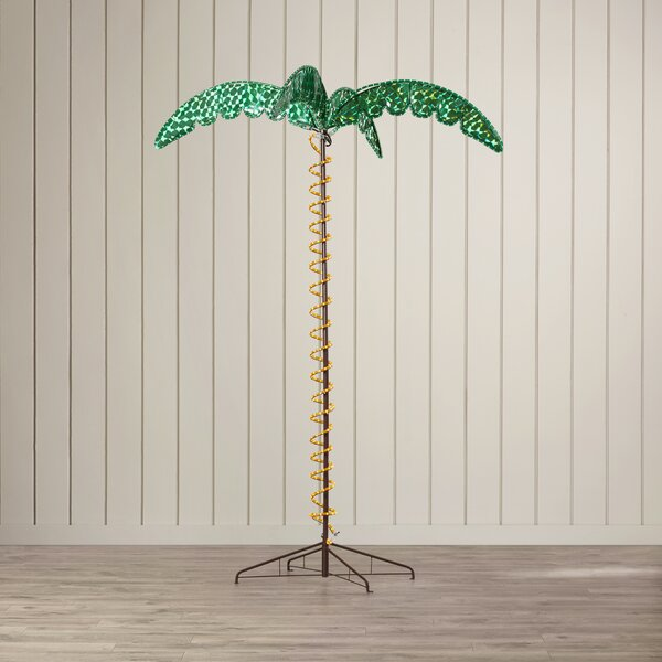 Canova Large Palm Tree 5 ft. Rope Light by Beachcrest Home