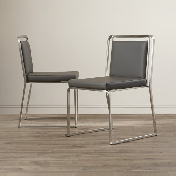 Loftis Upholstered Dining Chair (Set of 2) by Brayden Studio