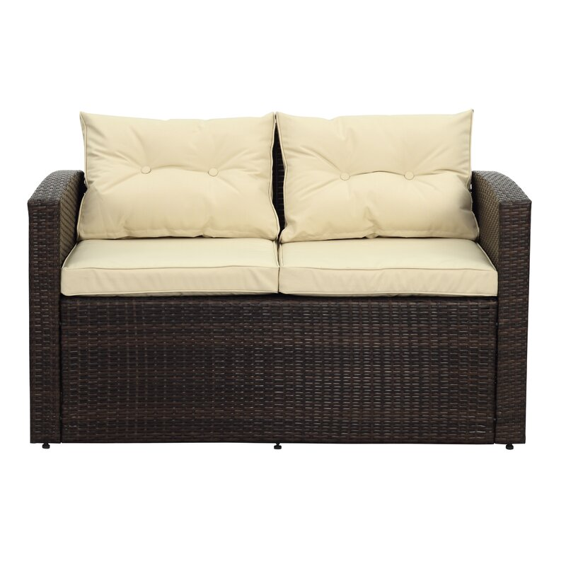 Mcleroy 6 Piece Sectional Seating Group With Cushion