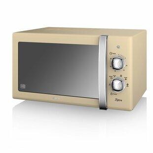 Retro 20l 800w Countertop Microwave