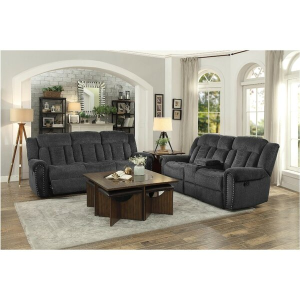 #2 Uplander Upholstered Reclining Configurable Living Room Set By Red Barrel Studio Best Choices