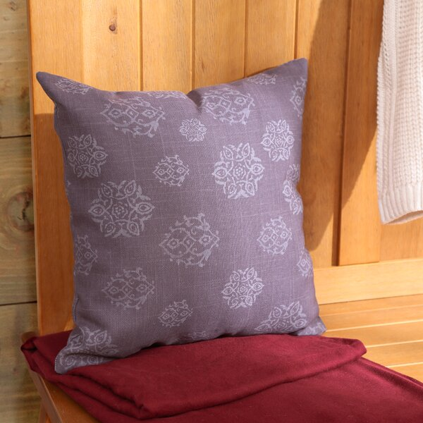 Medallion Indoor Outdoor Pillow by Manual Woodworkers & Weavers