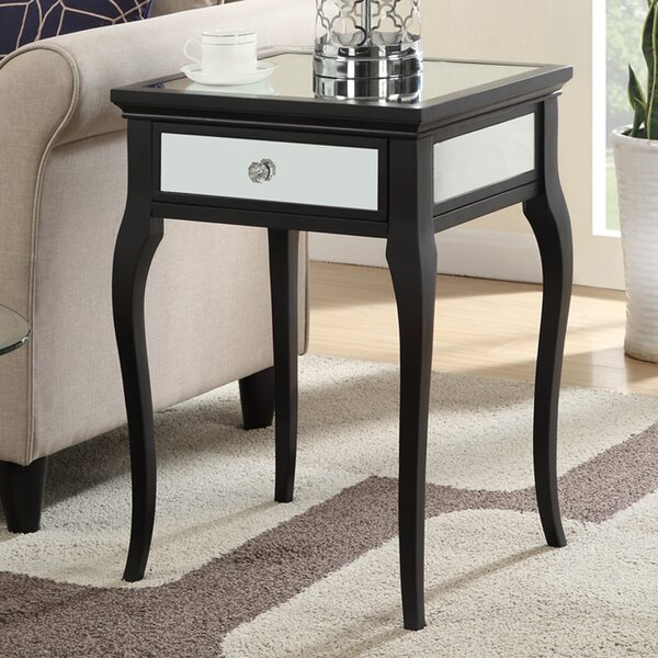 Romaine End Table by Willa Arlo Interiors