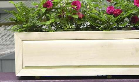 Cedar Window Box Planter by Bar Harbor Cedar