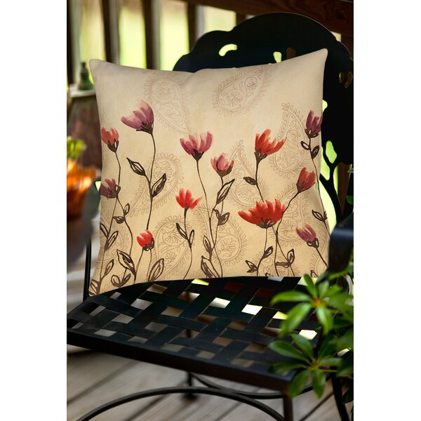 Keziah Indoor/Outdoor Throw Pillow by Winston Porter